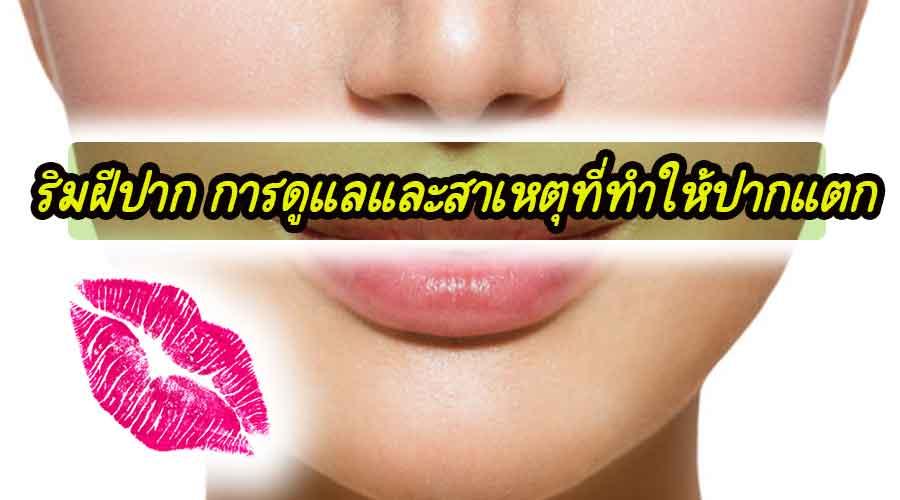 ริมฝีปาก